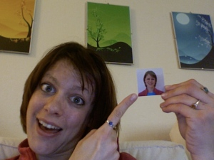 My visa photo